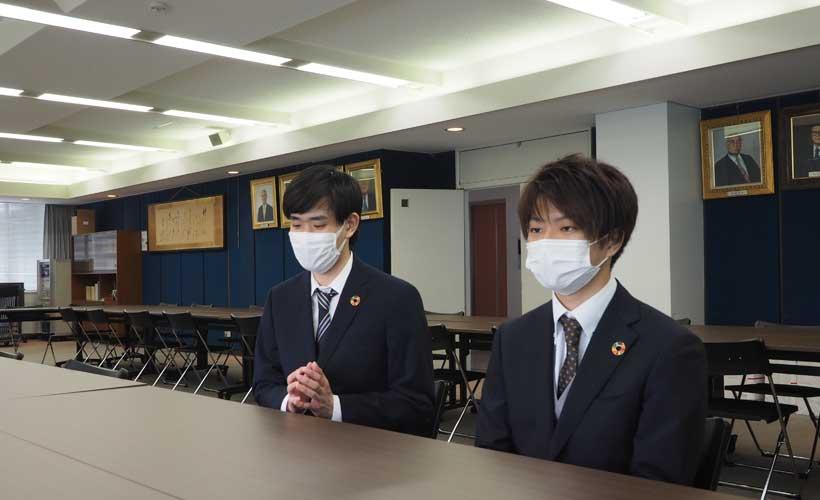 環境経営委員の学生部門代表 インタビュー