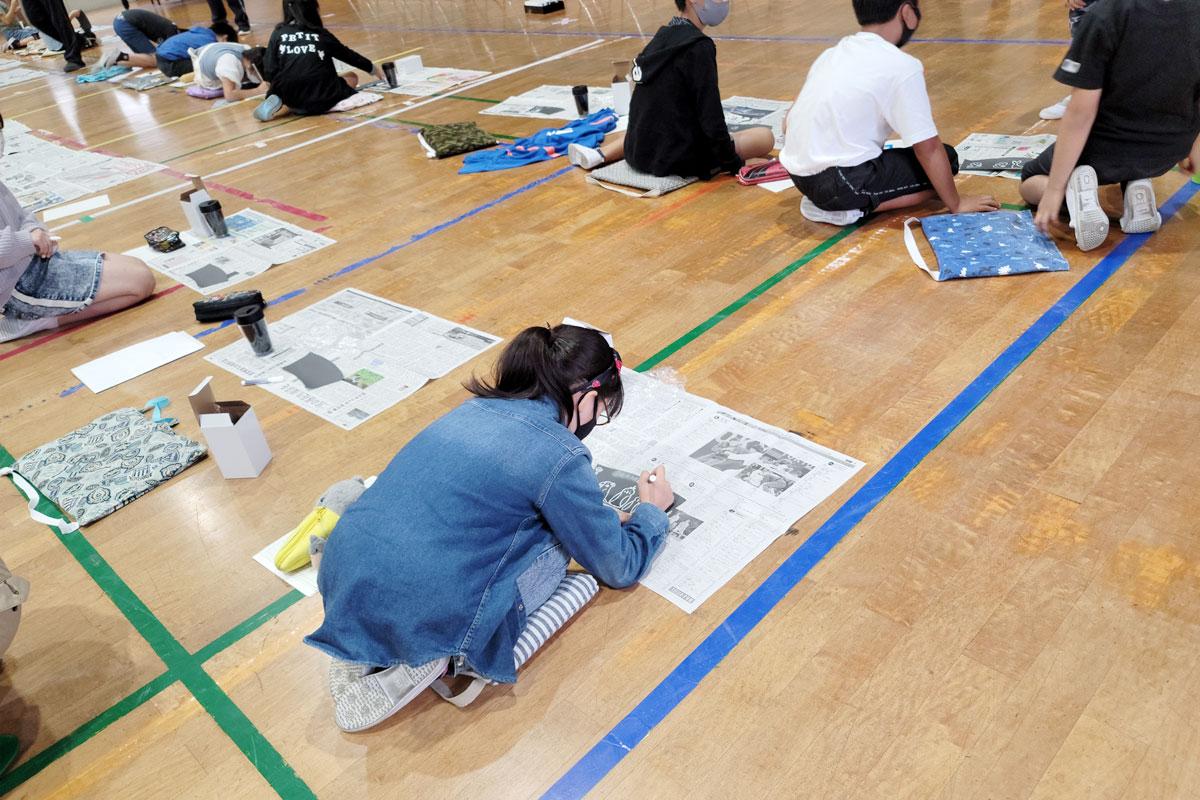 小田原市立桜井小学校 授業の様子2