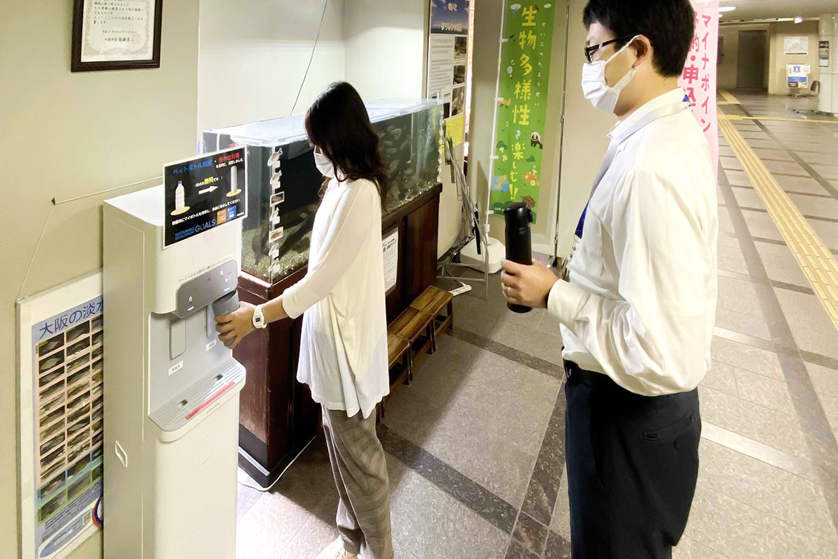 大阪府 吹田市「プラスチックごみ削減および熱中症予防の推進に関する連携協定」を締結