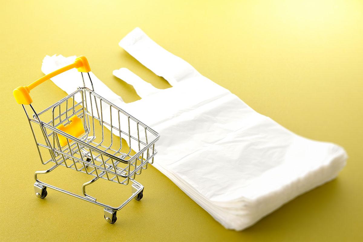 レジ袋削減の動き